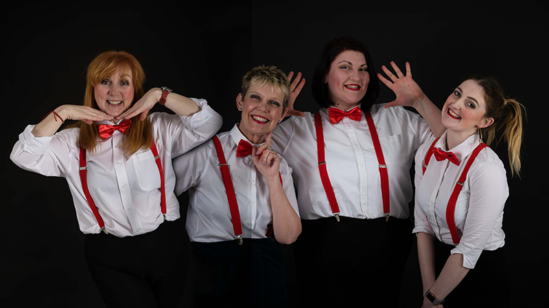 Theatrecraft Herne Bay presents the play Shakers at the Whitstable Playhouse